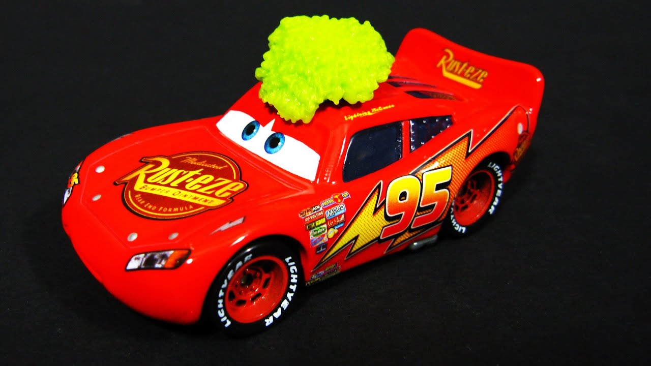 Disney Cars Toys Youtube: Cars TUMBLEWEED LIGHTNING MCQUEEN Disney Pixar Toy Review