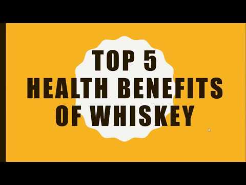 Top 5 Health Benefits of Whiskey