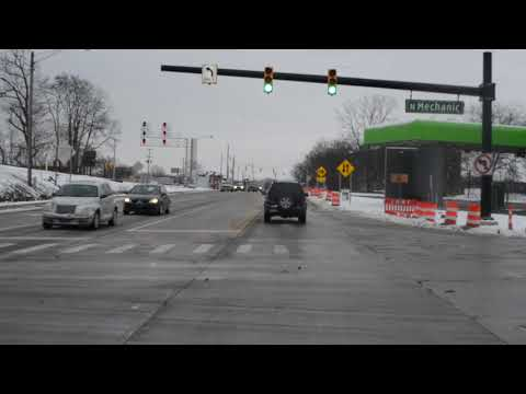 Louis Glick Highway and Washington Avenue converted for two-way traffic