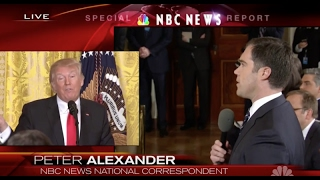 WATCH: Reporter Fact Checks Trump in real time