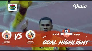 Persija Jakarta (1) vs (2) Semen Padang FC - Goal Highlight | Shopee Liga 1