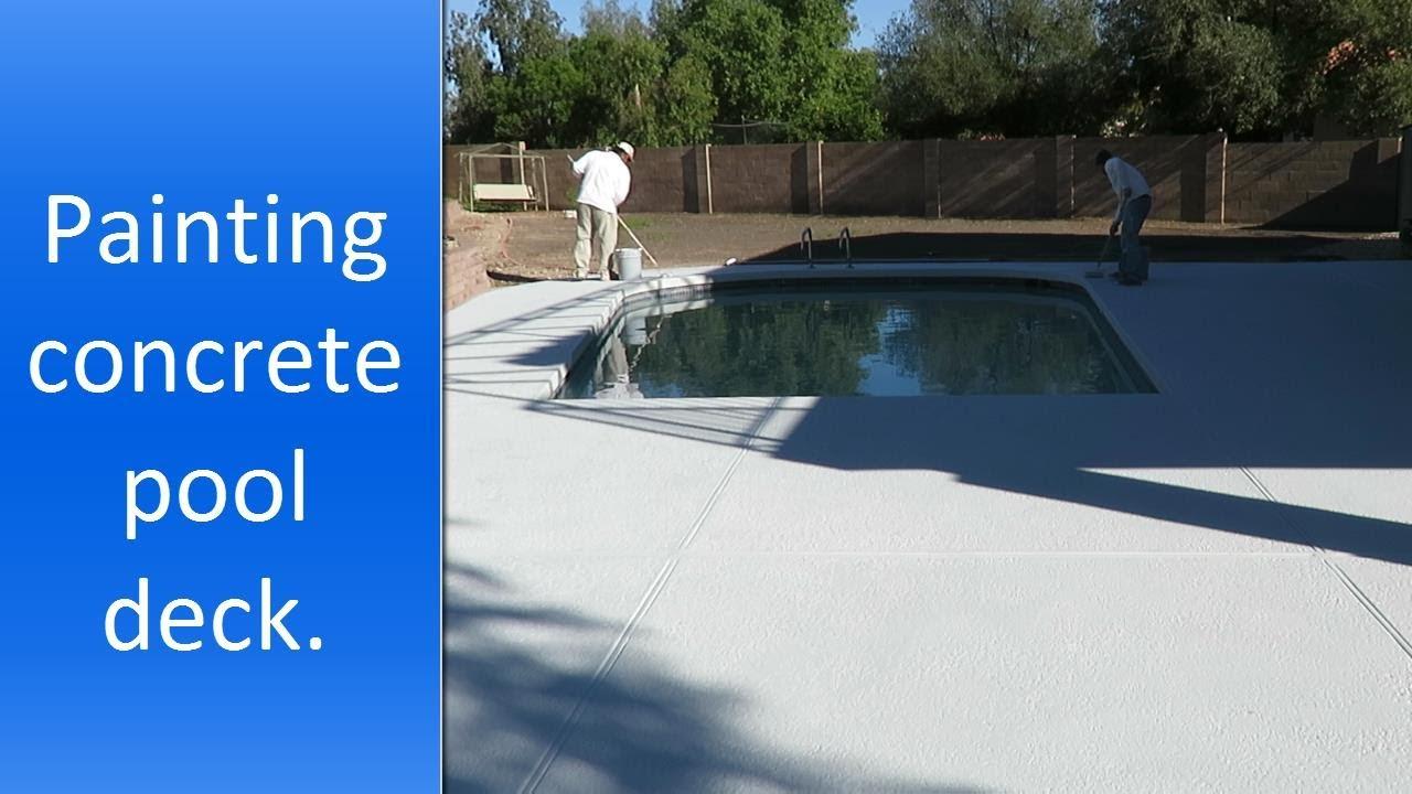 Pool Deck Painting In Scottsdale Az
