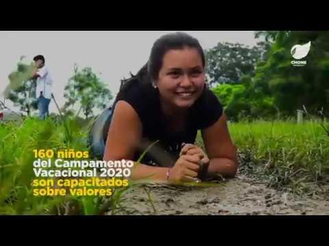 160 niños y adolescentes del Campamento Vacacional 2020 son capacitados sobre valores
