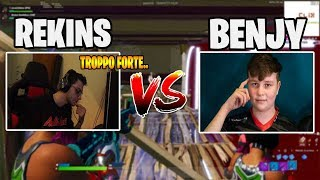 Rekins *SFlDA* Benjyfishy in Creativa! - Fortnite ita