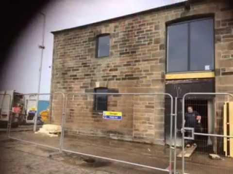 Gunpowder Store Renovation Granton Harbour Edinburgh
