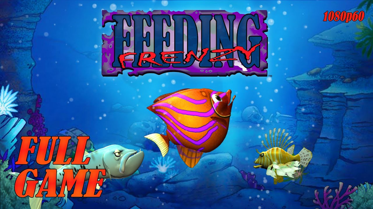 Download Feeding Frenzy (PC) - Full Game 1080p60 HD Walkthrough - No Commentary