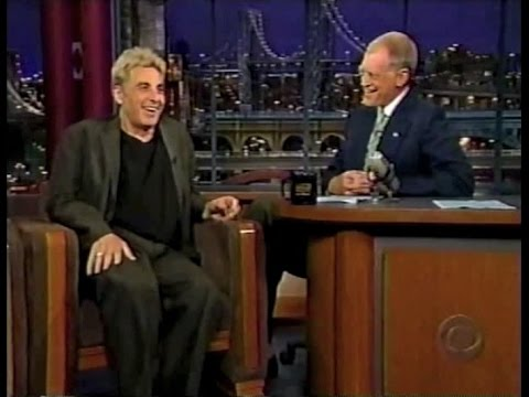 Al Pacino on Late Show, August 21, 2002