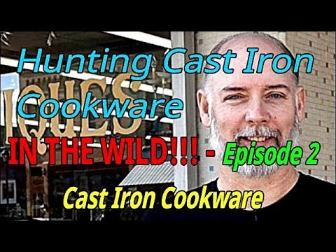 Hunting Cast Iron Cookware IN THE WILD!!! Episode-2