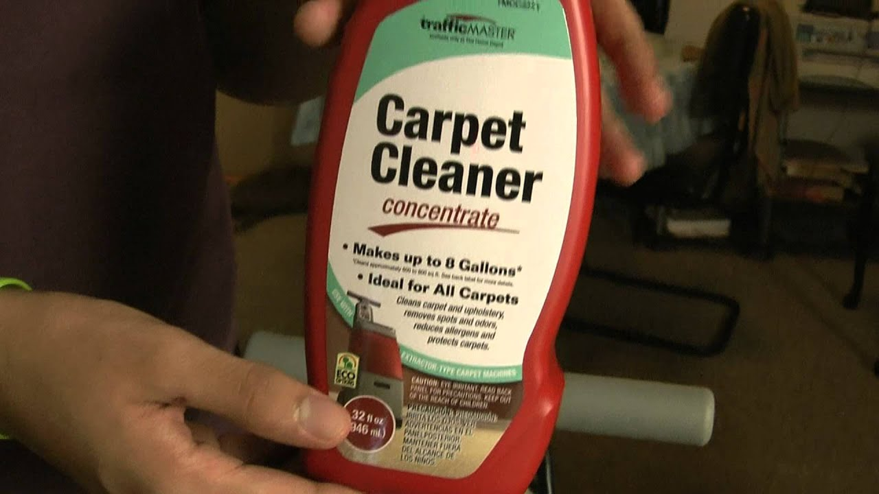 Carpet Cleaner Traffic master