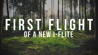First flight of a new i-Flite