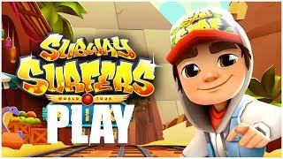SUBWAY SURFERS NEW YORK Game play video