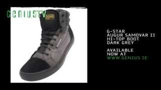 G-Star Augur Samovar II @ www.genius.ie(G-Star Augur Samovar II Hi-Top boot, Dark Grey. Now available to buy online from http://www.genius.ie., 2013-05-03T17:14:25.000Z)