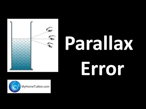 Parallax Error | Introduction to Physics