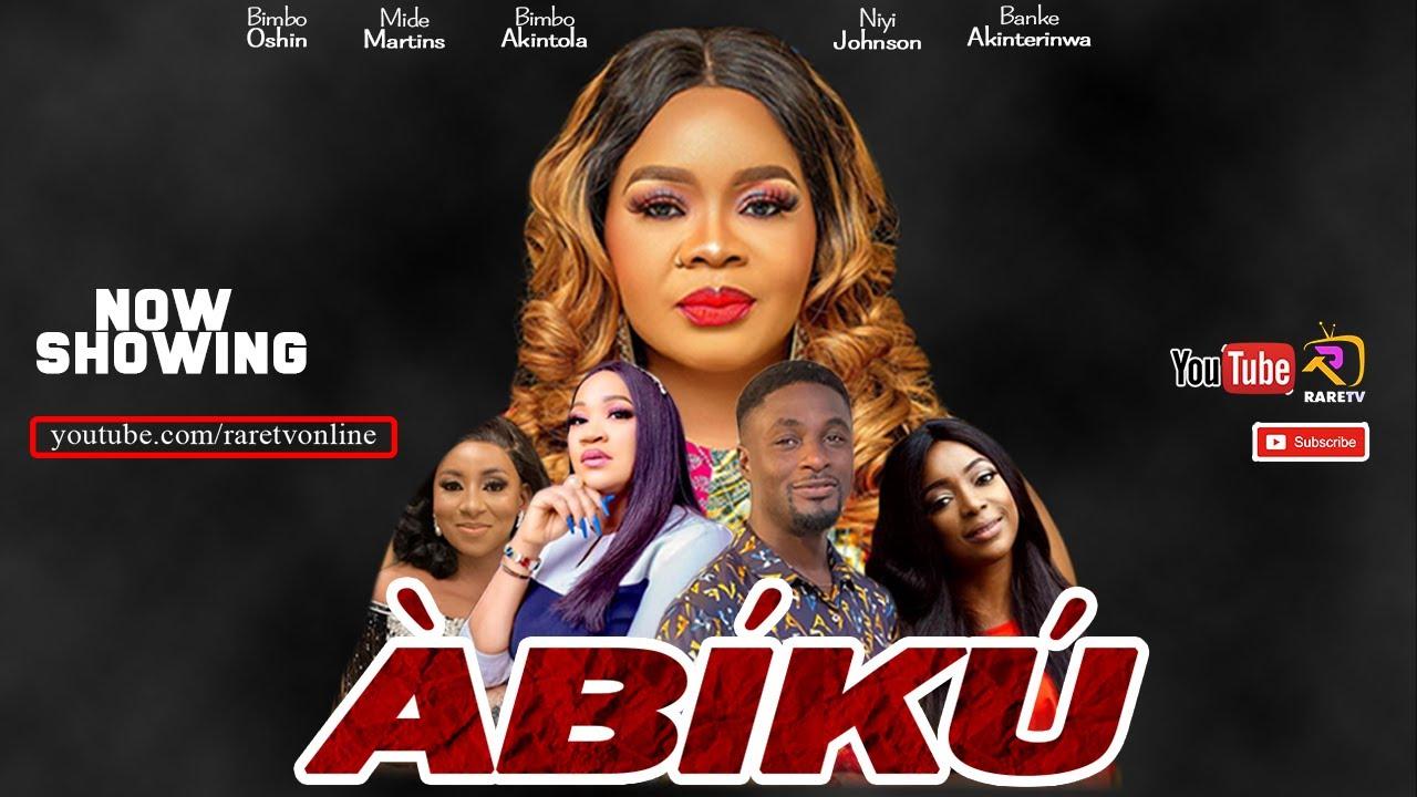 Download ABIKU LATEST YORUBA MOVIE 2021 featuring Bimbo Oshin  Niyi Johnson  Bimbo Akintola  Mide Martins