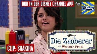 DIE ZAUBERER VOM WAVERLY PLACE - Clip: Shakira | Disney Channel