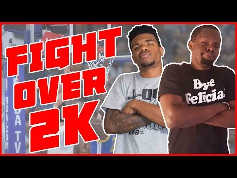 BROTHERS FIGHT OVER 2K!! - NBA 2K16 Gameplay | Game 2 Series 2