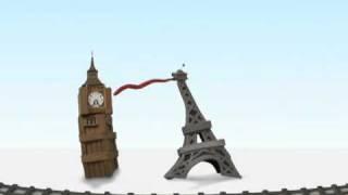Big Ben vs Eiffel Tower:  Paris London in 2 hours with Eurostar