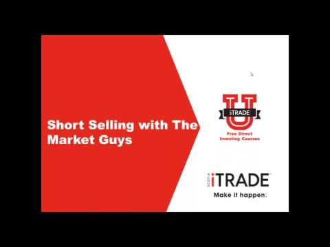 Short Selling with The Market Guys (October 2017)