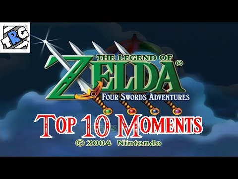 TheRunawayGuys - The Legend of Zelda: Four Swords Adventures - Top 10 Moments