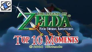 TheRunawayGuys - The Legend of Zelda: Four Swords Adventures - Top 10 Moments