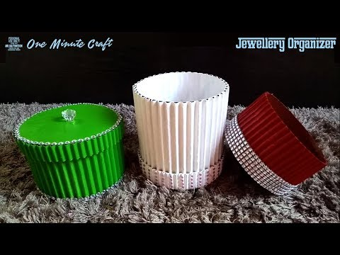 Easy Best Out of Waste Jewellery Organiser | Cardboard Craft Ideas | Life Hacks