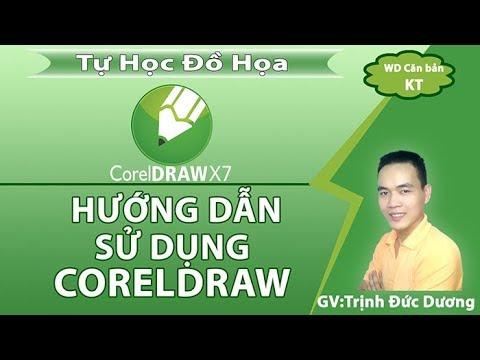 CorelDraw - Hướng dẫn sử dụng CorelDraw cho người mới bắt đầu | Bài1