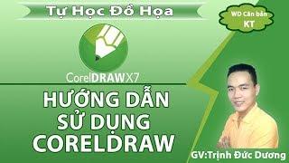 CorelDraw - Hướng dẫn sử dụng CorelDraw cho người mới bắt đầu   Bài1