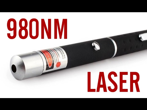 Infrared 980nm 5mw Laser Pointer Pen Review