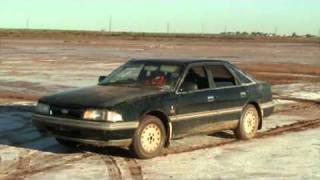 Ford Telstar TX5 Thrash car on mud flats