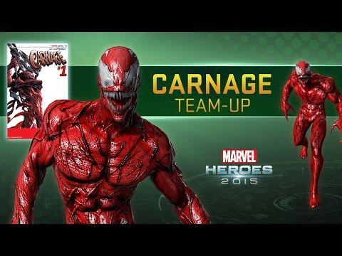 Carnage Team-Up trailer for Marvel Heroes 2015