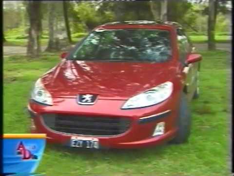 PEUGEOT 407 ST V6 SPORT AT (2005) TEST AUTO AL DÍA.