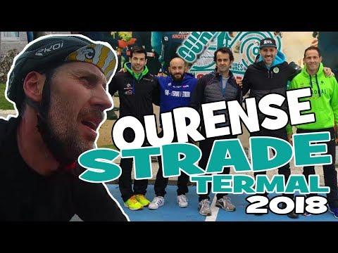 Nuestra OURENSE STRADE TERMAL 2018. Ciclismo Vlog.