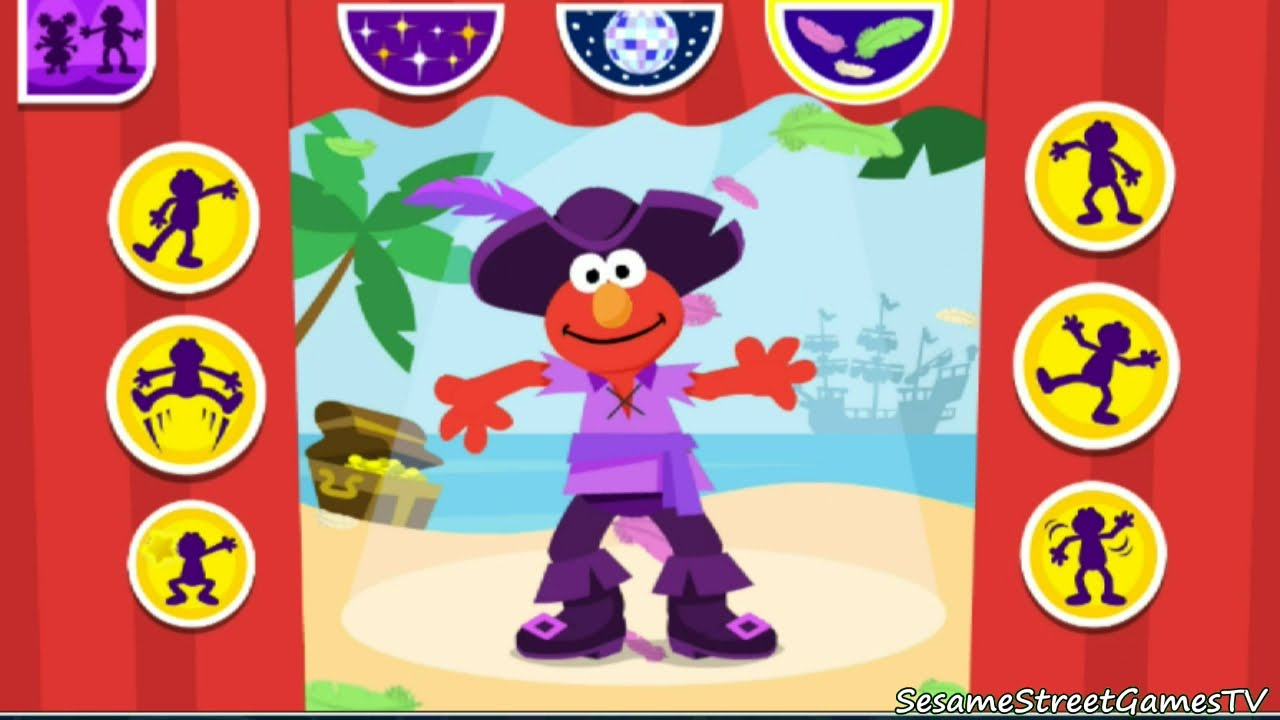 Dress up fairy games - Sesame Street Dress Up Time With Elmo And Abby Fairy Kids Game