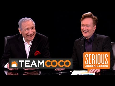 Mel Brooks -- Serious Jibber-Jabber with Conan O'Brien