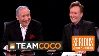 Mel Brooks -- Serious Jibber-Jabber with Conan O