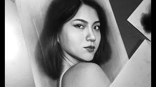 Download Video Menggambar Wajah Dengan Pensil   / Drawing with Charcoal and Pencil / DP Truong MP3 3GP MP4