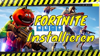 💡 WIE man FORTNITE installiert | PC Windows 10 | Tutorial 2019 | Deutsch