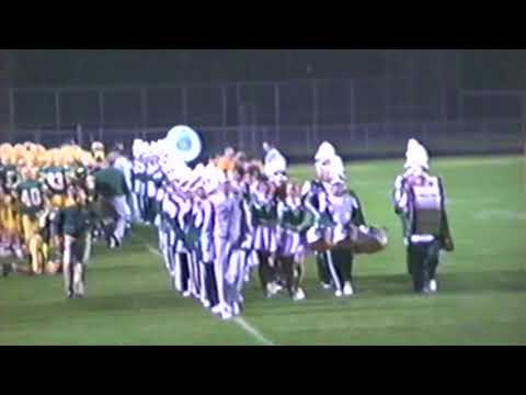 Brooke High School Band at John Marshall football game 1992