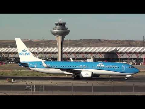 Klm Boeing 737-900 PH-BGB Taxing Madrid Barajas LEMD