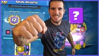 THE GREAT CHALLENGE IS MINE! THE BEST CHEST - CLASH ROYALE EVERYWHERE