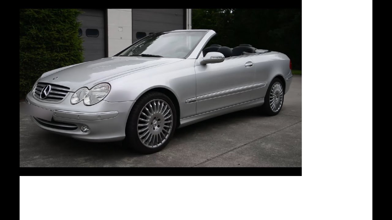2004 mercedes benz clk 200 kompressor cabriolet review youtube. Black Bedroom Furniture Sets. Home Design Ideas