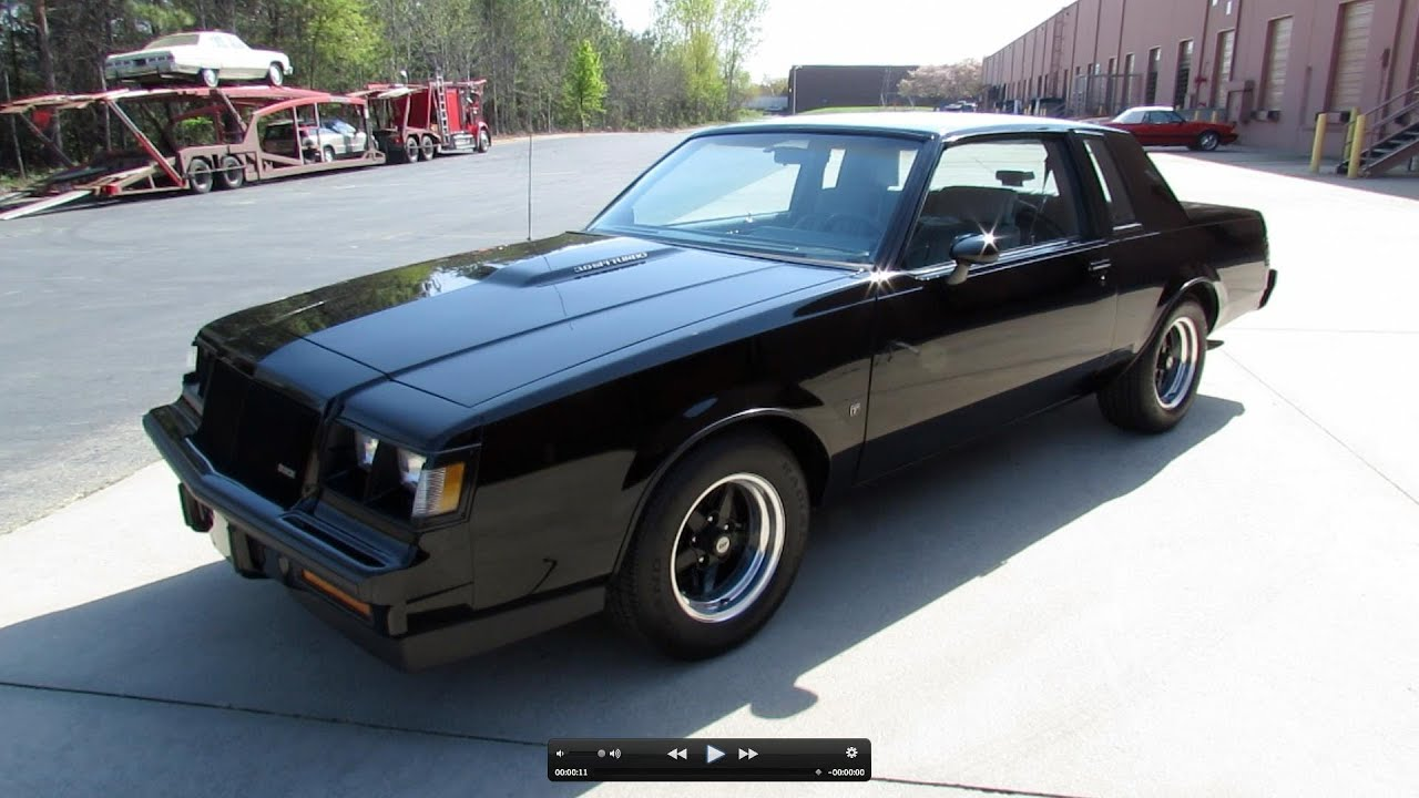 1987 Buick Grand National (Regal T-Type Turbo) Start Up, Exhaust ...