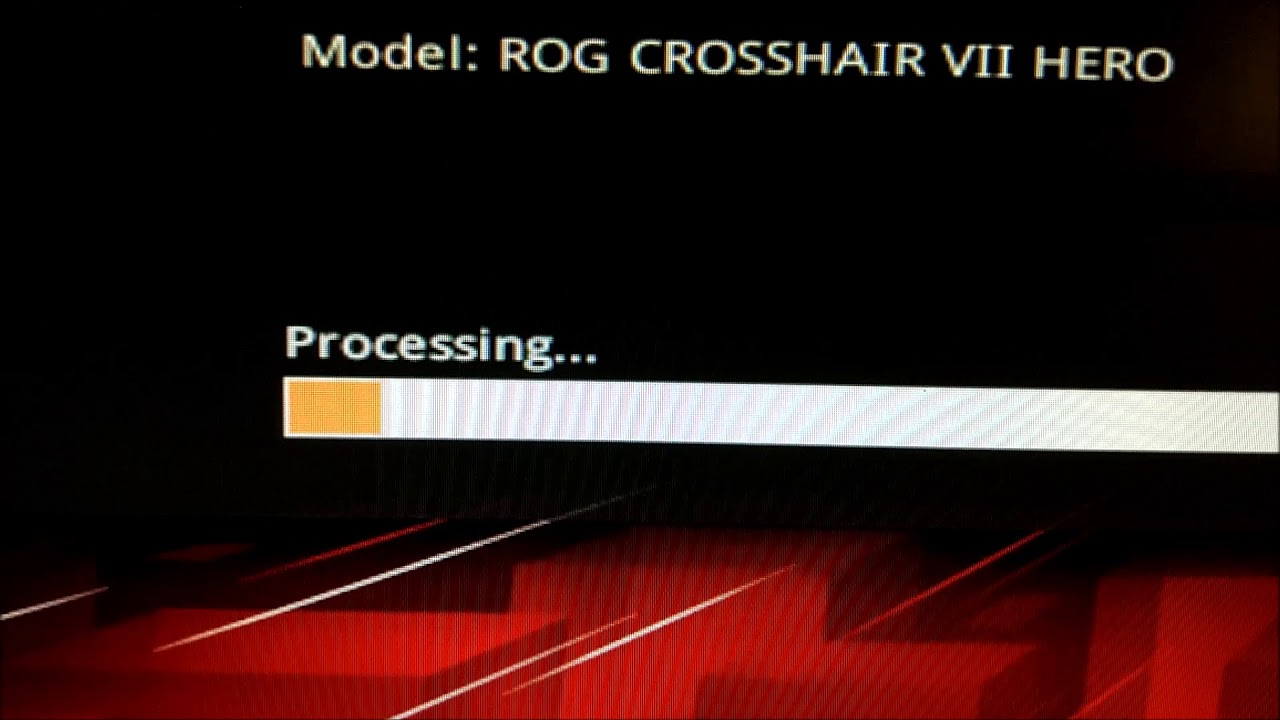 How To Update The BIOS On The Asus Crosshair VII Hero - YouTube