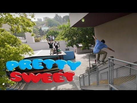 Pretty Sweet - Full Part - Eric Koston, Sean Malto, Alex Olsen, Jack Black - Girl /Chocolate [HD]