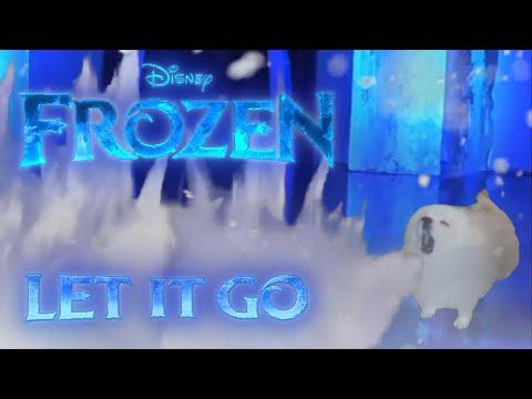 Gabe the Dog - Let It Go (Frozen Cover)