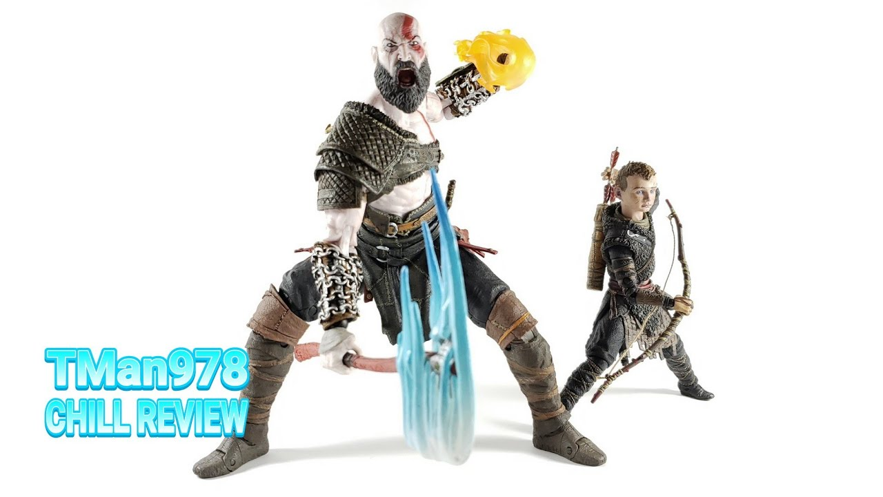 God Of War Kratos Atreus Ultimate Action Figure 2 Pack Chill Review Youtube