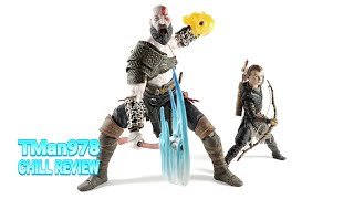 God of War Kratos & Atreus Ultimate Action Figure 2 Pack CHILL REVIEW
