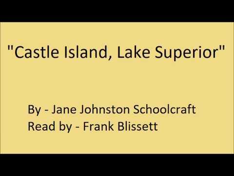 """Castle Island, Lake Superior"" by Jane Johnston Schoolcraft"