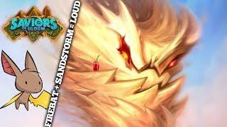 Sandstorm Elemental = Dududududu   Firebat Hearthstone   Saviors of Uldum