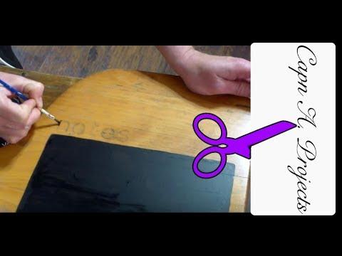 Painting an ANTIQUE Desk (Child's Schooldesk Painting)